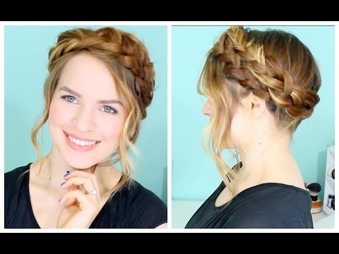 How to: Easy Crown Braid