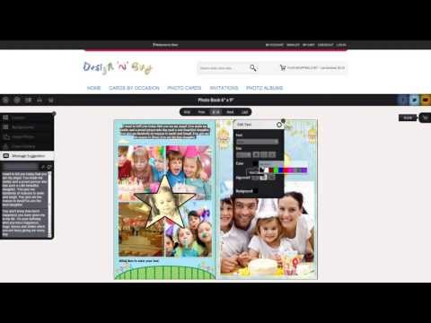 Online Photo Album Designer, Photo Album Builder Software
