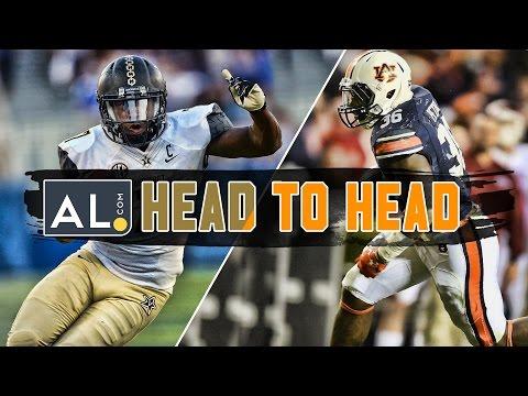 Head To Head: Vanderbilt vs. Auburn 2016 prediction
