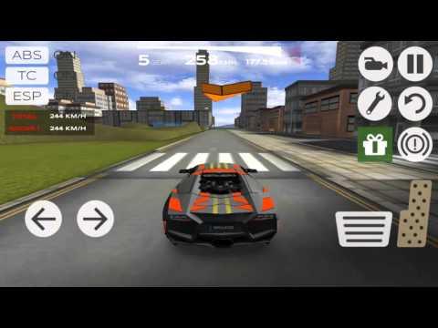 game play Extreame  car driving #1 lamborghini walkthrough