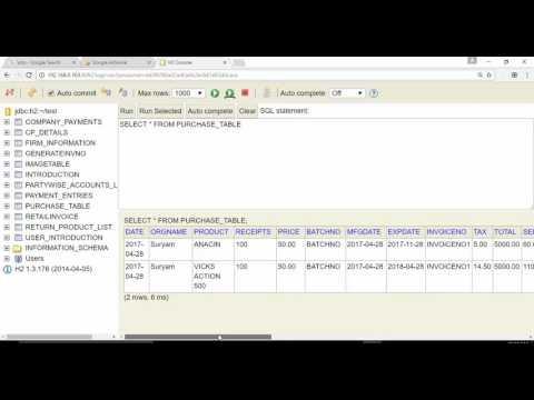 MySQL- Calculate Number of Days Between Two Dates (H2 Database)