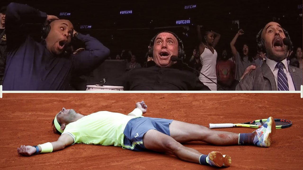How Rafa Nadal Makes Commentators LOSE THEIR SHIT | Top Reactions of Tennis Commentators on Nadal