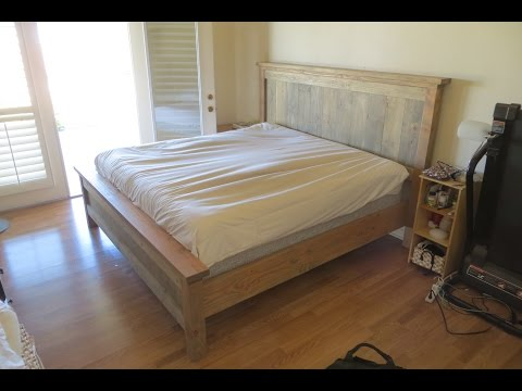 Farmhouse Style Kingsize Bed