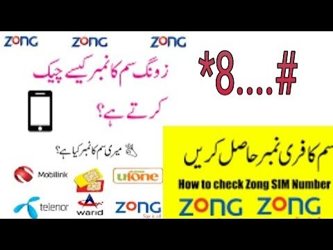 how to check zong number without balance