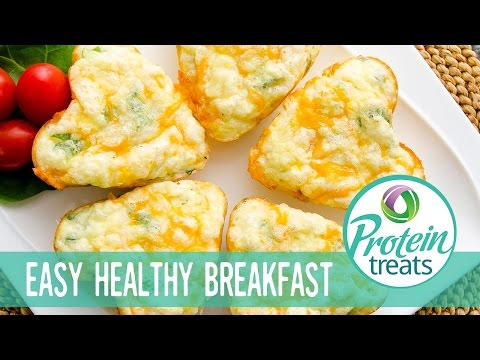 Breakfast Egg Muffins – Protein Treats by Nutracelle