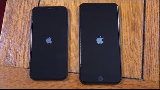 iPhone X vs IPhone 8 Plus - Speed Test!