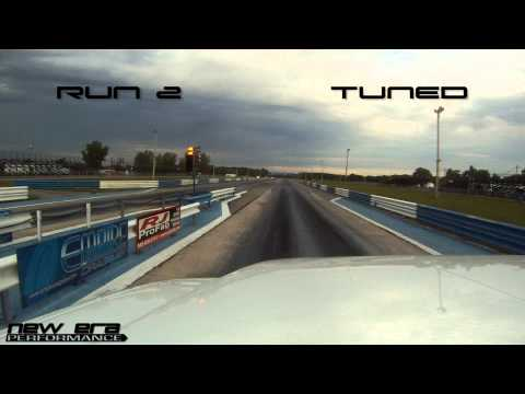 Stock 2012 GMC Sierra goes 6 tenths faster in 1/4 mile from just a tune