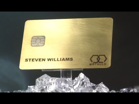 Metallo Card - Personalized Luxury Metal Credit / Debit Cards