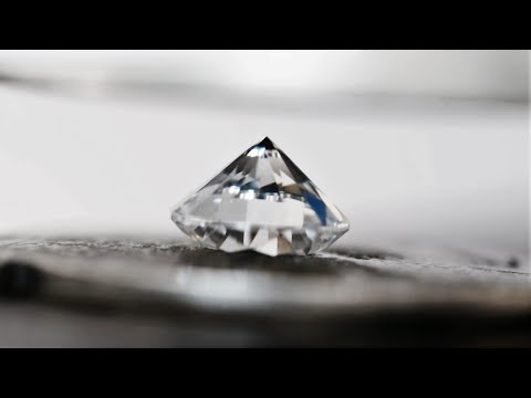 Diamond vs Hydraulic Press - Real is rare