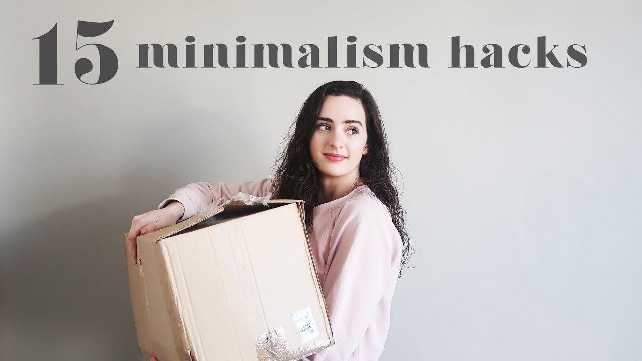 MINIMALISM SERIES | 15 Hacks to Declutter Your Life
