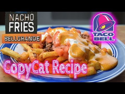 Taco Bell - Nacho Fries Bellgrande DIY CopyCat RECIPE!