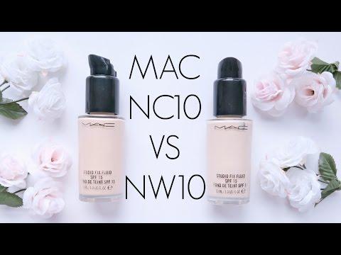 Review: MAC Studio Fix Fluid NC10 VS NW10