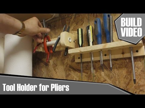 Chevee Builds - Tool Holder for Pliers