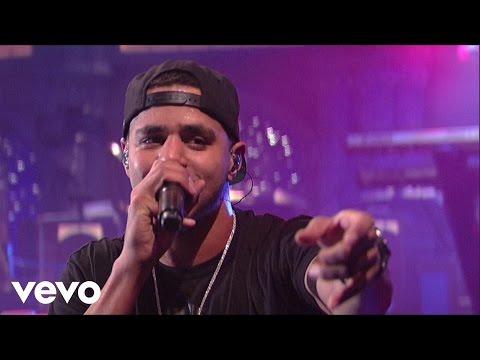 J. Cole - Forbidden Fruit (Live on Letterman)