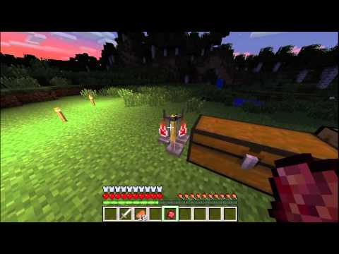 Minecraft Tutorial: How To Make An Invisibility And Night Vision Potion 1.7.2