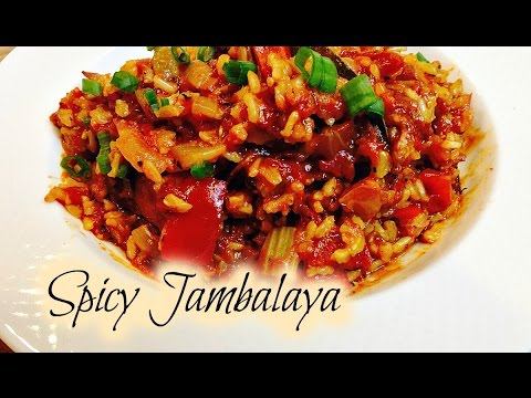 🌶 Learn How To Cook Homemade Spicy Jambalaya 🌶| DinnerThyme