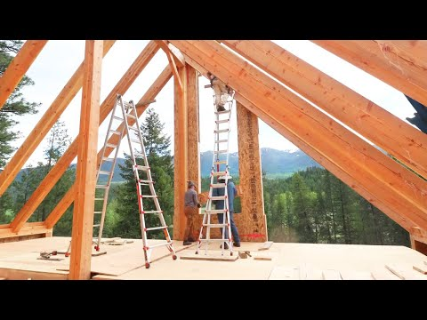 WOW, THAT VIEW IS INSANE! (South Gable SIP Installation)