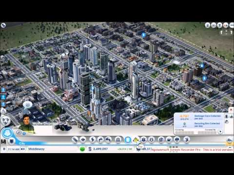 Simcity very profitable city