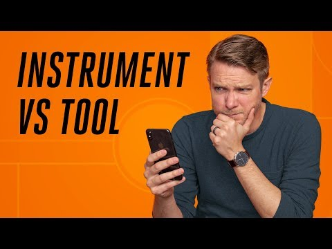 Why your phone is not a tool