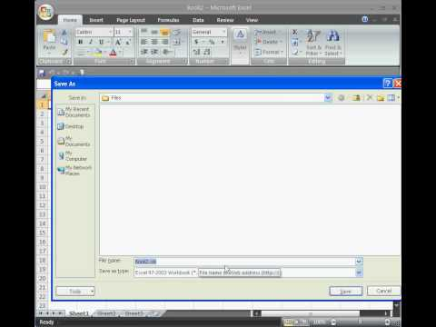 Change Default File Extension in Excel 2007.mp4
