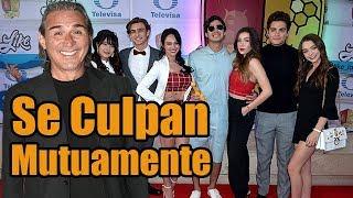 Pleitazo Entre el Elenco de la Telenovela Like y Pedro Damián