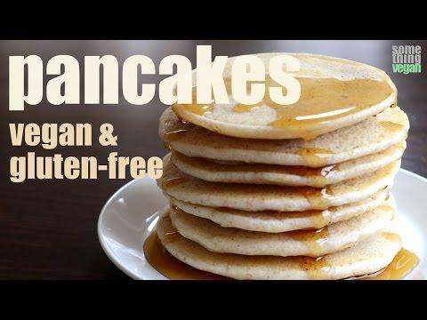 pancakes (vegan & gluten-free) Something Vegan