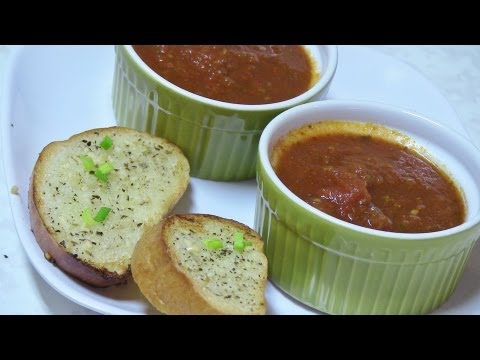 Homemade Tomato Stock, Broth and Marinara Sauce - Video Recipe
