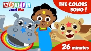 The Colors Song...and 14 other songs from Akili and Me | 26 minutes of African Educational Cartoons