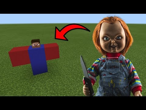 How To Spawn CHUCKY in Minecraft PE