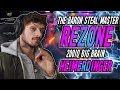 Rezone   The BIG BRAIN BARON STEALER! Incredible Heimerdinger Burst Outplays! - League Of Legends