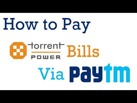 How To Pay Torrent Power Bill Payment via Paytm