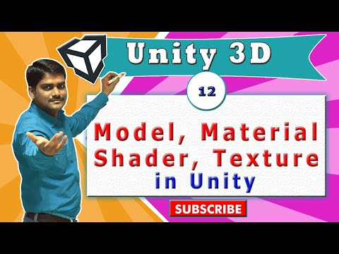 Unity Essentials Tutorial 12 - Model, Material, Shader & Texture