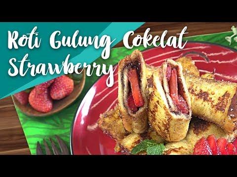 Resep Roti Gulung Cokelat Strawberry by Antonius Halim | GO COOK #4