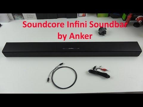 Soundcore Infini Integrated 2.1 Channel Soundbar by Anker