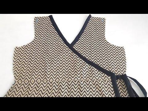 DIY Wrap Dress Sewing Tutorial | Easy Way Step by Step Method