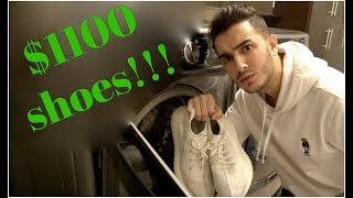 $1100 SHOES in the WASHING MACHINE!
