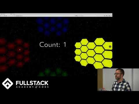 Stackathon Presentation: Space Simon VR
