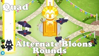Bloons TD 6 - Quad Impoppable with no tower allowed inside