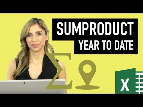 Excel Dynamic YTD Calculations: OFFSET, SUMPRODUCT & SUM