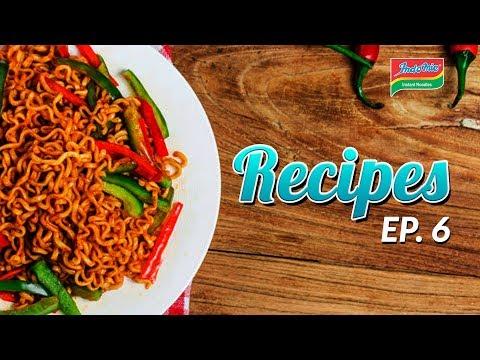 Indomie Recipes - Beef Patties with Vegetable Eggs EP 6 (2018)