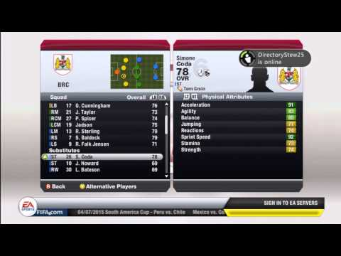 FIFA 13   Manager Mode Tips