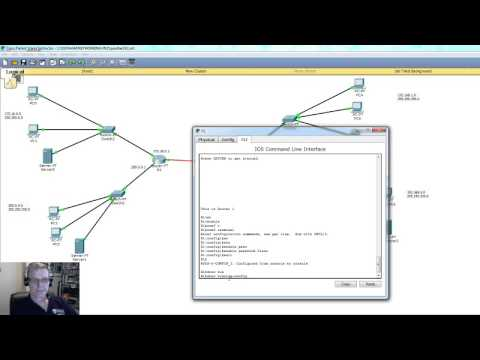 Securing a CISCO Router:  basic