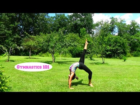How To Do A Front-Walkover With Lydia The Gymnast