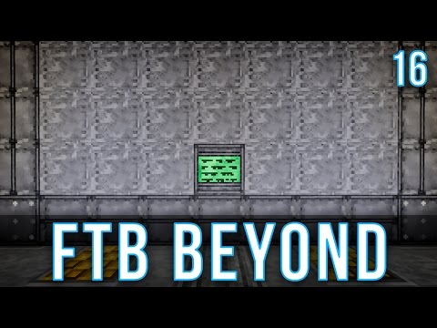 Extreme Reactor Setup | FTB Beyond | Episode 16