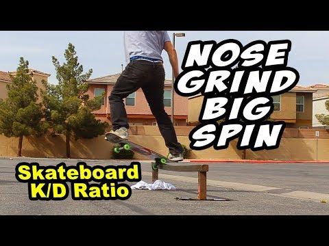 Nosegrind Bigspin (Hardest Sport Ever?)