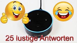 """Amazon Echo Dot - 25 lustige Antworten von Alexa - """"Alexa"""" Deutsch / german"""