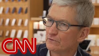 Tim Cook: Wanted to show kids it