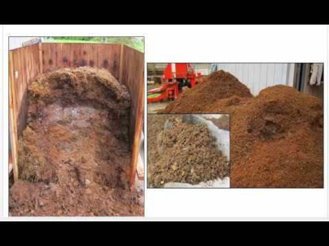 Composted Horse Manure and Stall Bedding Pilot Project