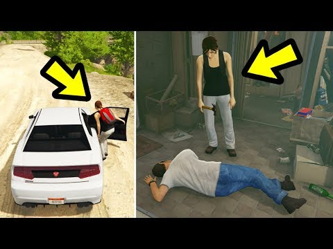 GTA 5 - What if Trevor takes Ursula home instead?