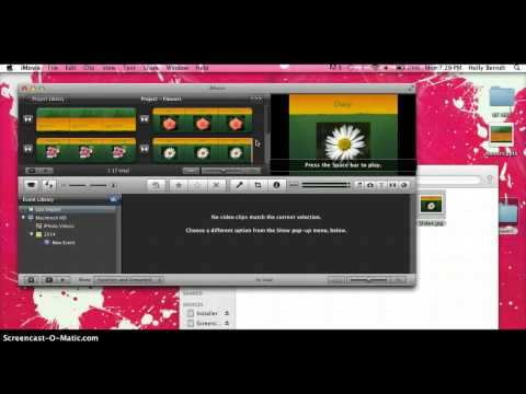 How to Upload a PowerPoint Presentation into iMovie